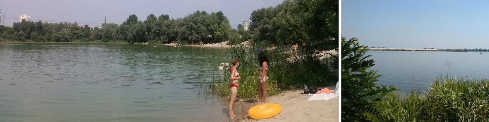 Киевское озеро Небреж